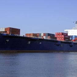 An undated handout photograph made available by TOTE Maritime shows the container ship El Faro.