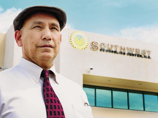 Roque Garcia, then chief executive officer of Southwest Counseling Center, Inc.