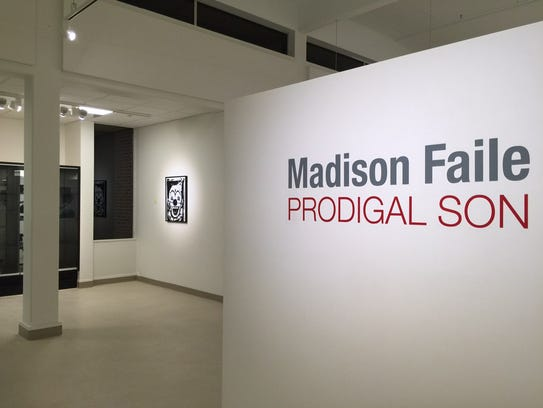 Montgomery artist Madison Faile's new exhibit Prodigal