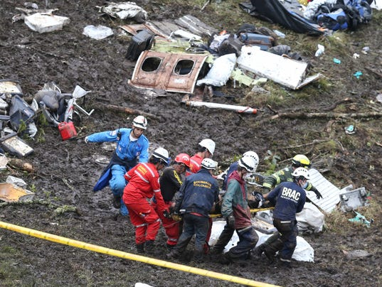 AP CORRECTION COLOMBIA AIR CRASH I COL
