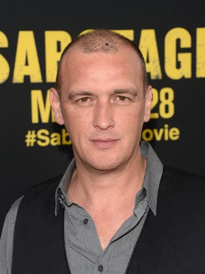 """Actor Alan O'Neill, seen here at at 2014 film premiere, died Wednesday in Los Angeles at the age of 47. He was known for his work on FX's """"Sons of Anarchy."""""""