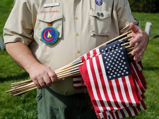 LAF Scouts Honoring Veterans