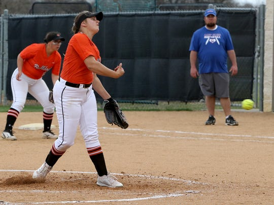Burkburnett sophomore Jocelyn Bright remained one of the most dominant pitchers in the area, leading in ERA and strikeouts.