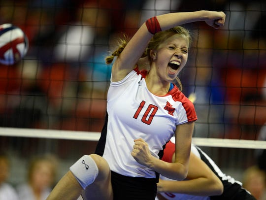 Former Neenah volleyball standout Carley Ramich is the new co-head coach at Hortonville this upcoming fall.