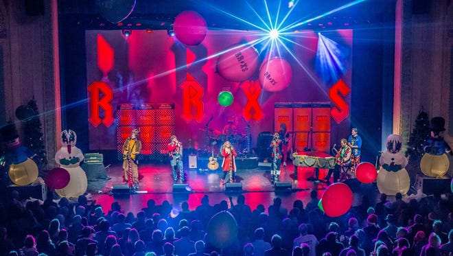 In its 12th year, the Rock and Roll Christmas Spectacular is hitting the stage with new mash-ups of holiday favorites combined with rock and roll panache.