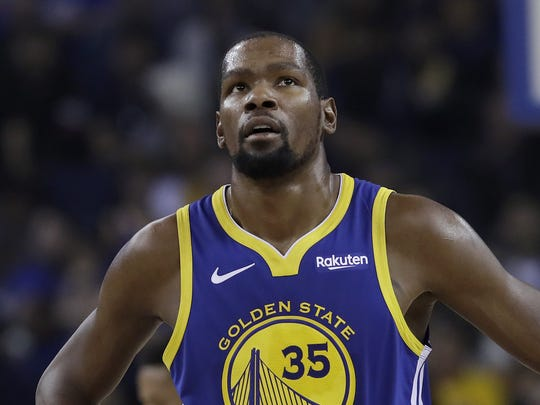 Kevin Durant is set to become a free agent.