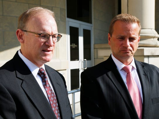 From left, Broome County chief assistant district attorney