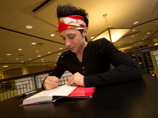 Johnny Weir is a world-renowned Olympic figure skater,