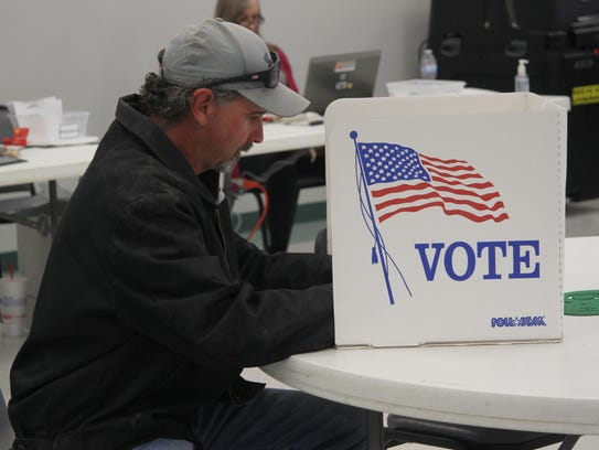 Jeff Young voted Tuesday, March 6, 2018, for the Carlsbad