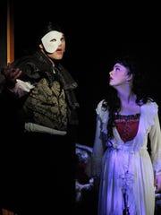 TCOE's production of Phantom of the Opera at the LJ
