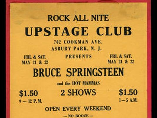 Upstage Club flier, 1971