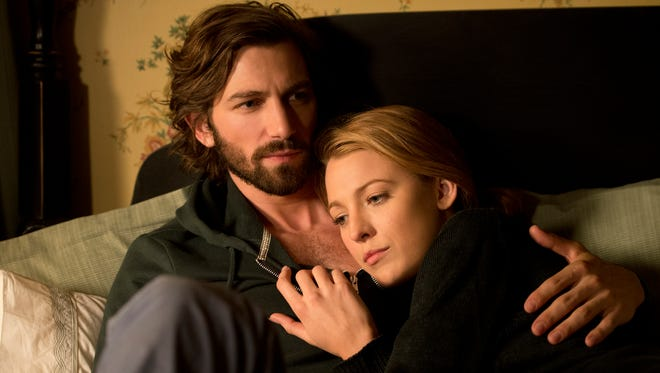 """Michiel Huisman, left, gets involved with an ageless Blake Lively in """"The Age of Adaline."""""""