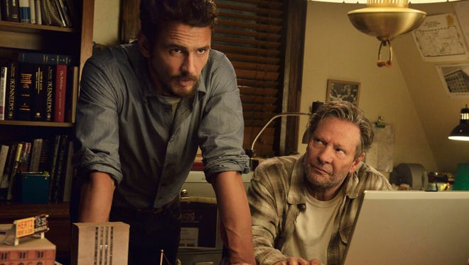 """James Franco as Jake Epping, left, and Chris Cooper as Al Templeton in a scene from the eight-part series, """"11.22.63,"""" streaming on Hulu beginning Monday, Feb. 15, 2016."""