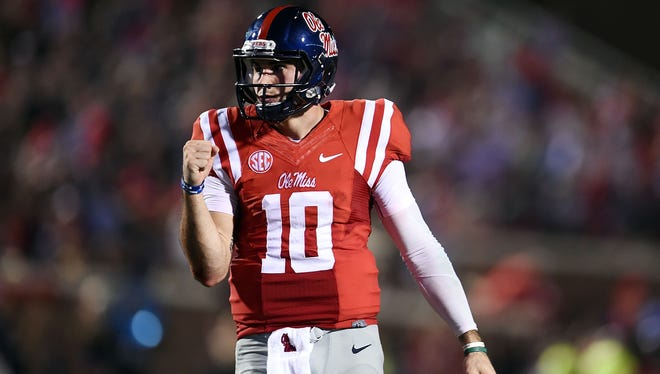 Chad Kelly threw for 2,758 yards in nine games this past season.