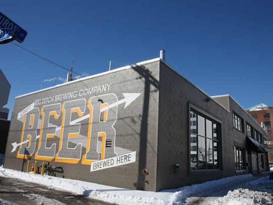 Big Ditch Brewing Company in downtown Buffalo.