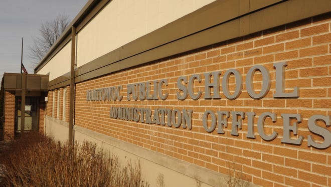 Exterior of the Manitowoc Public School District Administration Offices.