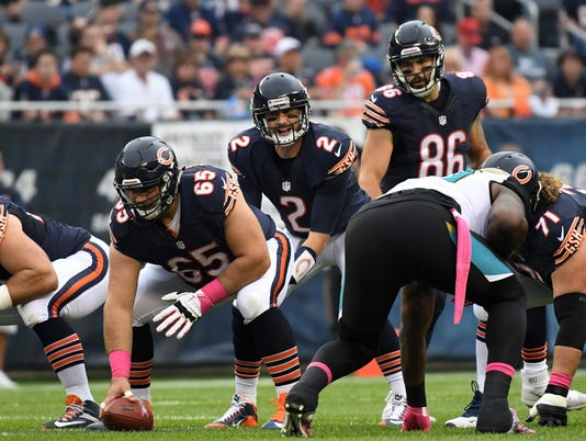 NFL: Jacksonville Jaguars at Chicago Bears