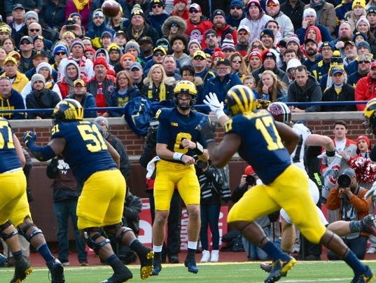 Image result for michigan vs ohio state