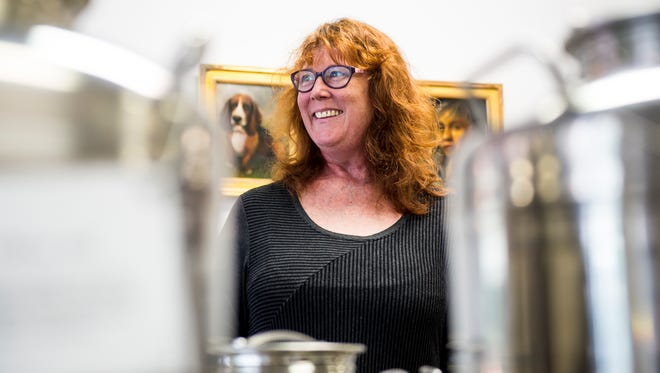 Tabitha Harrison is the owner of Abithat's Tasting Room, a specialty shop offering countless varieties of oils and vinegars in downtown Hanover.