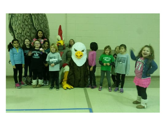 The Ellison Eagles hold Super Bowl Pep Rally to celebrate