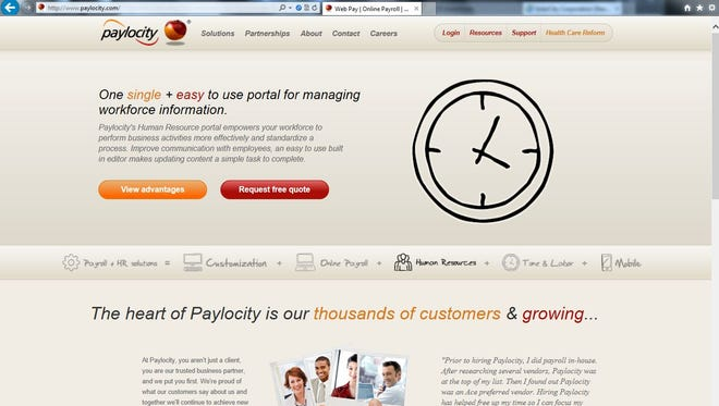 Cloud based provider of payroll services is kicking off a busy week for software IPOs.