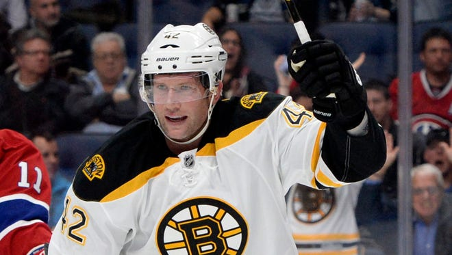 Bruins forward David Backes had the olecranon bursa removed from his elbow and will miss at least the next two games.