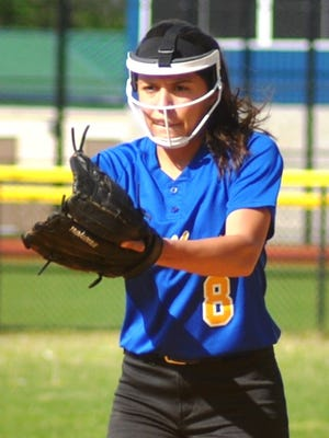 Lyndhurst senior Olivia McMullin, one of the best pitchers in the South Bergen area, was named first-team all-division.