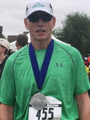 Northville runner James Austin made Alaska the 45th
