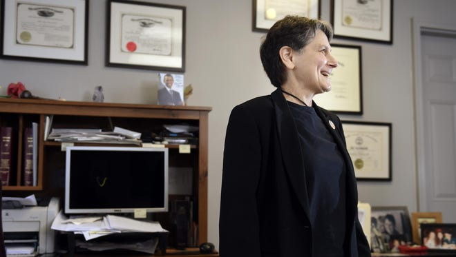 Abby Rubenfeld filed the lawsuit that led to Tennessee's inclusion in the U.S. Supreme Court case that legalized gay marriage nationwide.