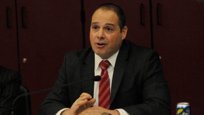 Nutley Board of Education President Daniel Carnicella
