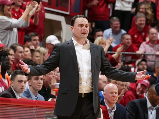 NCAA Basketball: Purdue at Indiana