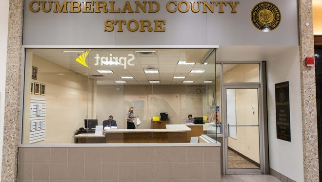 The new Cumberland County Store at the Cumberland Mall on Thursday, July 6.