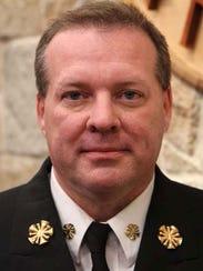 San Angelo Fire Chief Brian Dunn