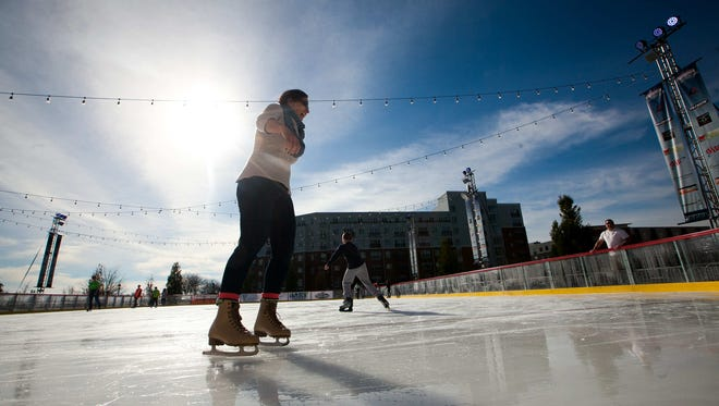 Wilmington's Riverfront Rink is now open for the season and is offering beer for the first time.