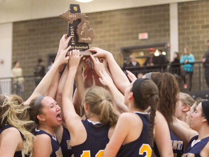 The Hartland Eagles revel in their district finals