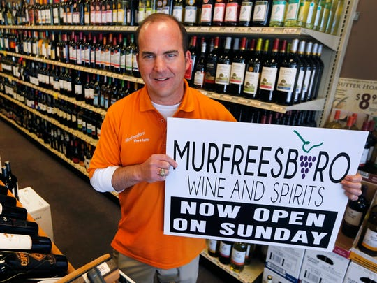 Ted Robinson the co-owner and manager of Murfreesboro