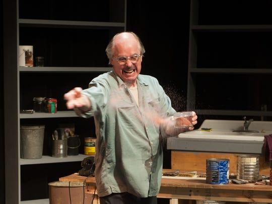 """Kim Allen Bent stars as artist Mark Rothko in """"Red,"""" which runs in Montpelier through June 19."""