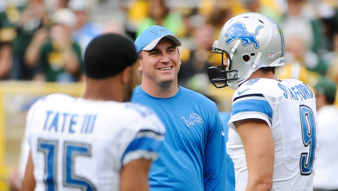 Lions offensive coordinator Jim Bob Cooter said there could be more deep balls dialed up for Matthew Stafford this season.