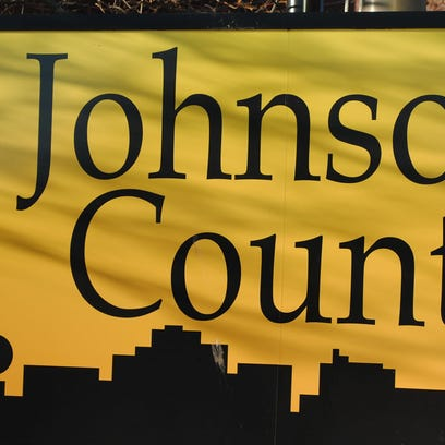 The Johnson County sign.