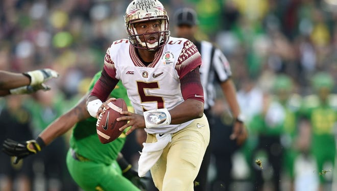 The 2015 Rose Bowl is the only start Florida State QB Jameis Winston has lost in his career.