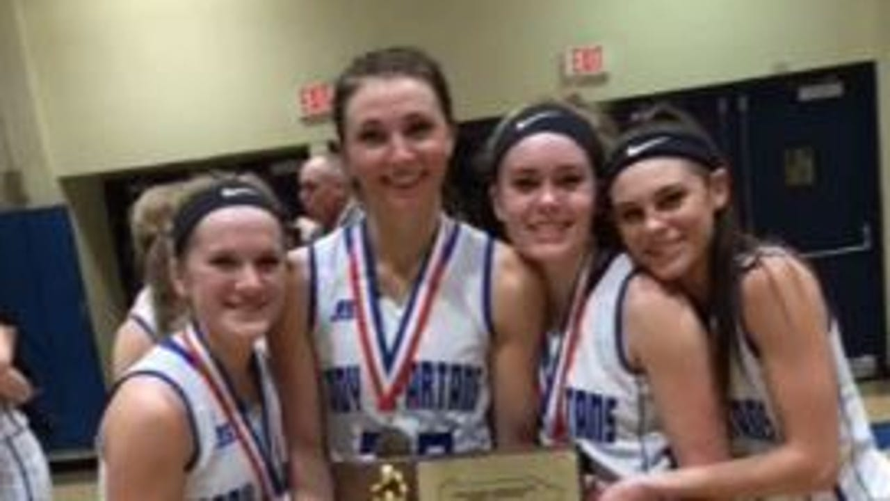 McConnellsbrug girls basketball coach Brent Seville raved about his four seniors after the Spartans were eliminate from the playoffs on Friday.