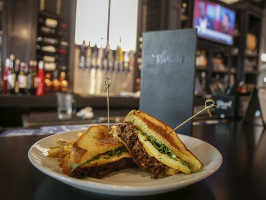 Short rib grilled cheese at Vivian's in downtown Des