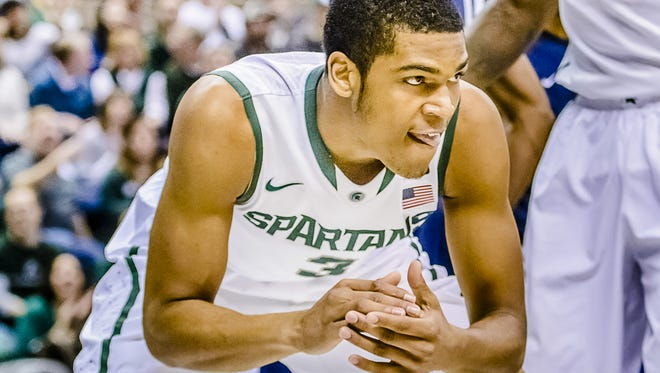 Sophomore Alvin Ellis III will be counted upon to help MSU replace Gary Harris' production at shooting guard this season.
