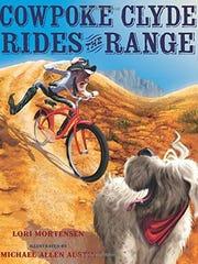"""""""Cowpoke Clyde Rides the Range"""" by Lori Mortensen"""