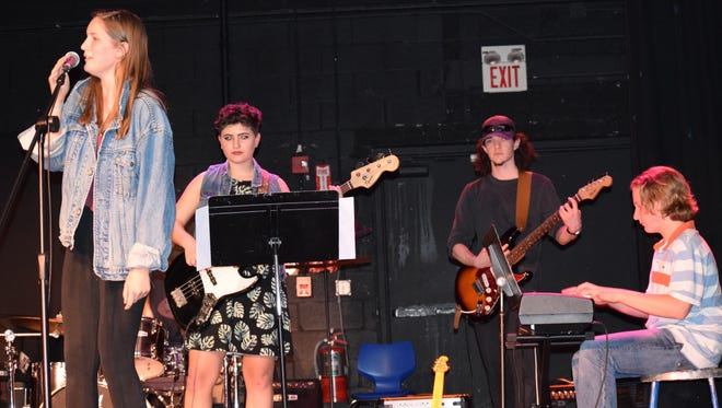 Some of the Poughkeepsie Day School musicians set to perform March 23 at the Heal Haiti benefit concert at the school.