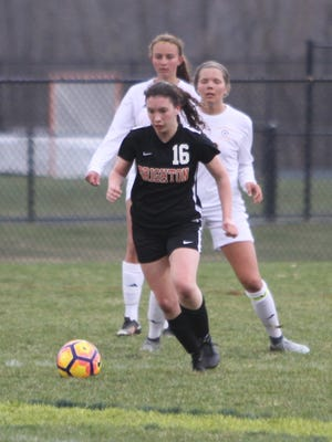 Alexis Shatrau scored for Brighton in a 2-0 victory over Okemos.