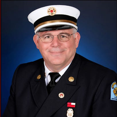 Binghamton Fire Chief Daniel Thomas