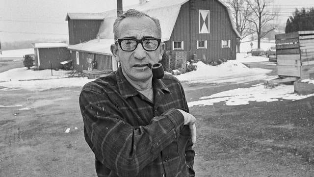 Max Yasgur, owner of Sullivan County's biggest dairy farm in 1969, gave organizers a place to stage the Woodstock Music and Art Fair.