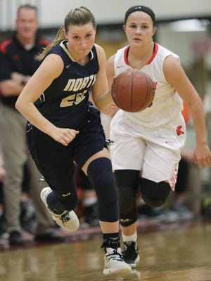 Appleton North's Sydney Levy is one of the top returning girls basketball players in Wisconsin.