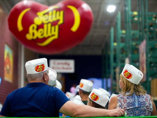 While you're at the Jelly Belly carnival, take the